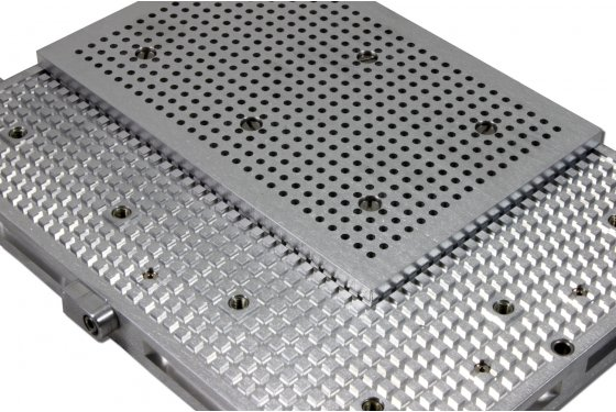 Hole grid plate 6040 for RAL-Pro vacuum tables