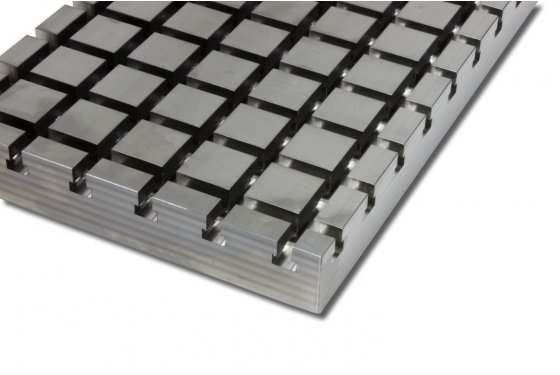 Steel cross slot plate 4030 X-Block