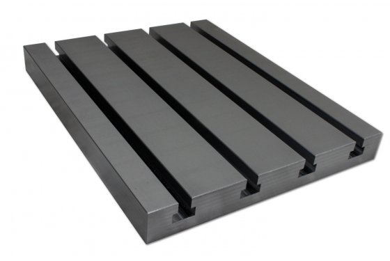 Steel T-slot plate 12040 Big Block