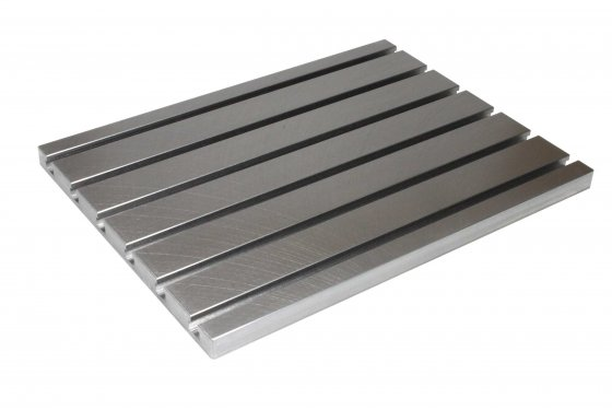 Steel T-slot plate 2020 (finely milled)