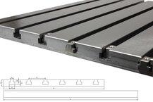 Steel T-slot plate 4040