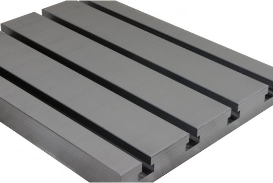 Steel T-slot plate 6060 Big Block