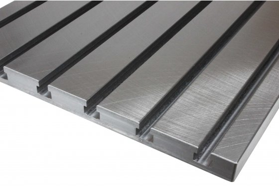 Steel T-slot plate 7030 (finely milled)