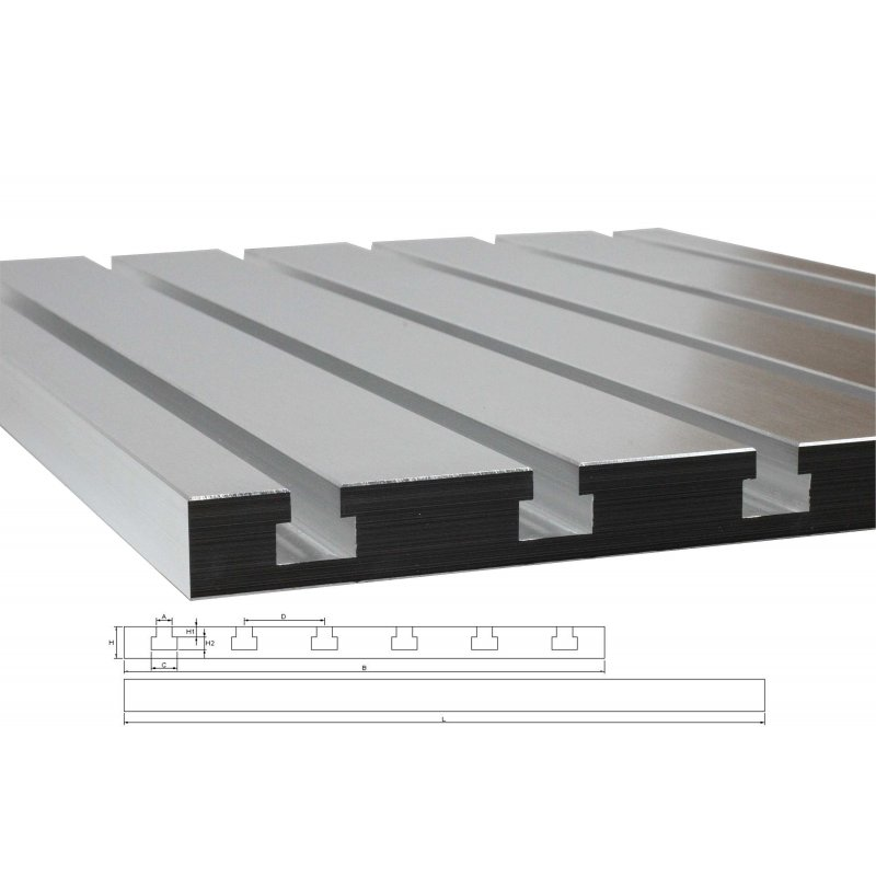 T-slot plate 10050