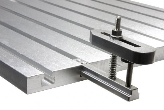 Aluminium T-slot extension for 10mm slots