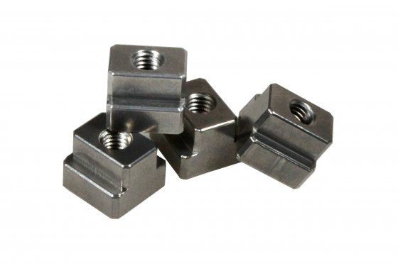 Aluminium T-slot nut with M10 thread for 14mm slots