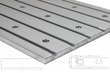 Cast aluminum T-slot plate 3020 Tiny