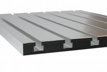 Cast aluminium T-slot plate 12 x 8